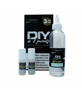 Pack DIY E Saveur 150ml 30/70 03mg