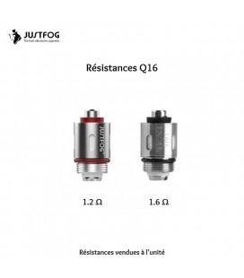 Résistances Justfog Q16