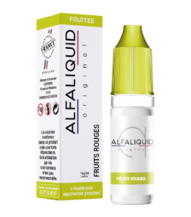 FRUITS ROUGES 10ml Fr - ALFALIQUID
