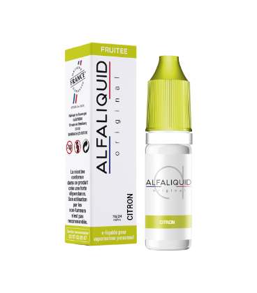 CITRON 10ml Fr - ALFALIQUID