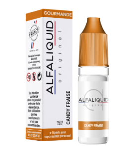 CANDY FRAISE 10ml Fr - ALFALIQUID